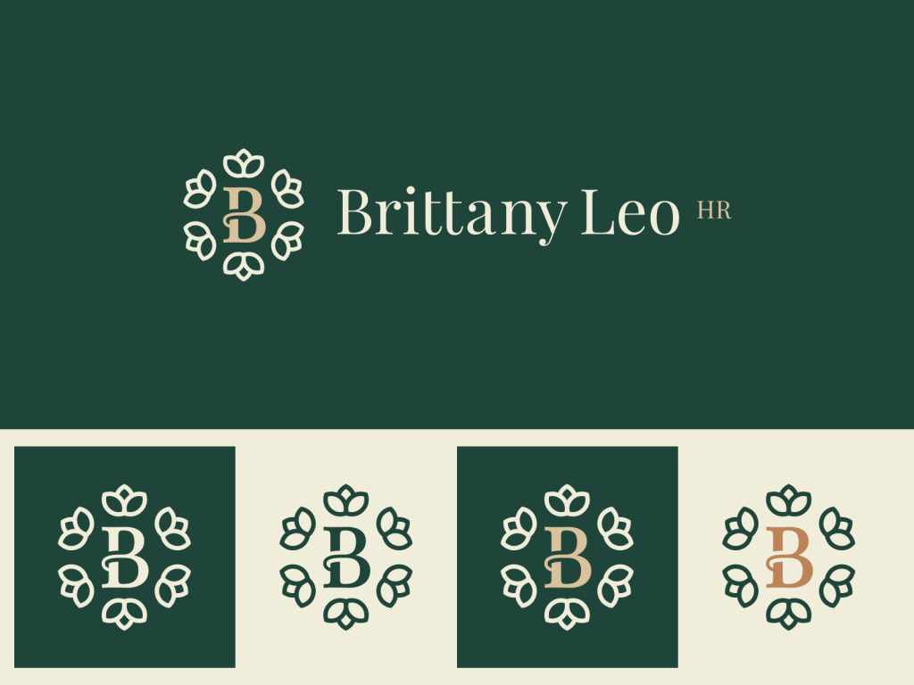 Brittany Leo HR Logo Color Variations
