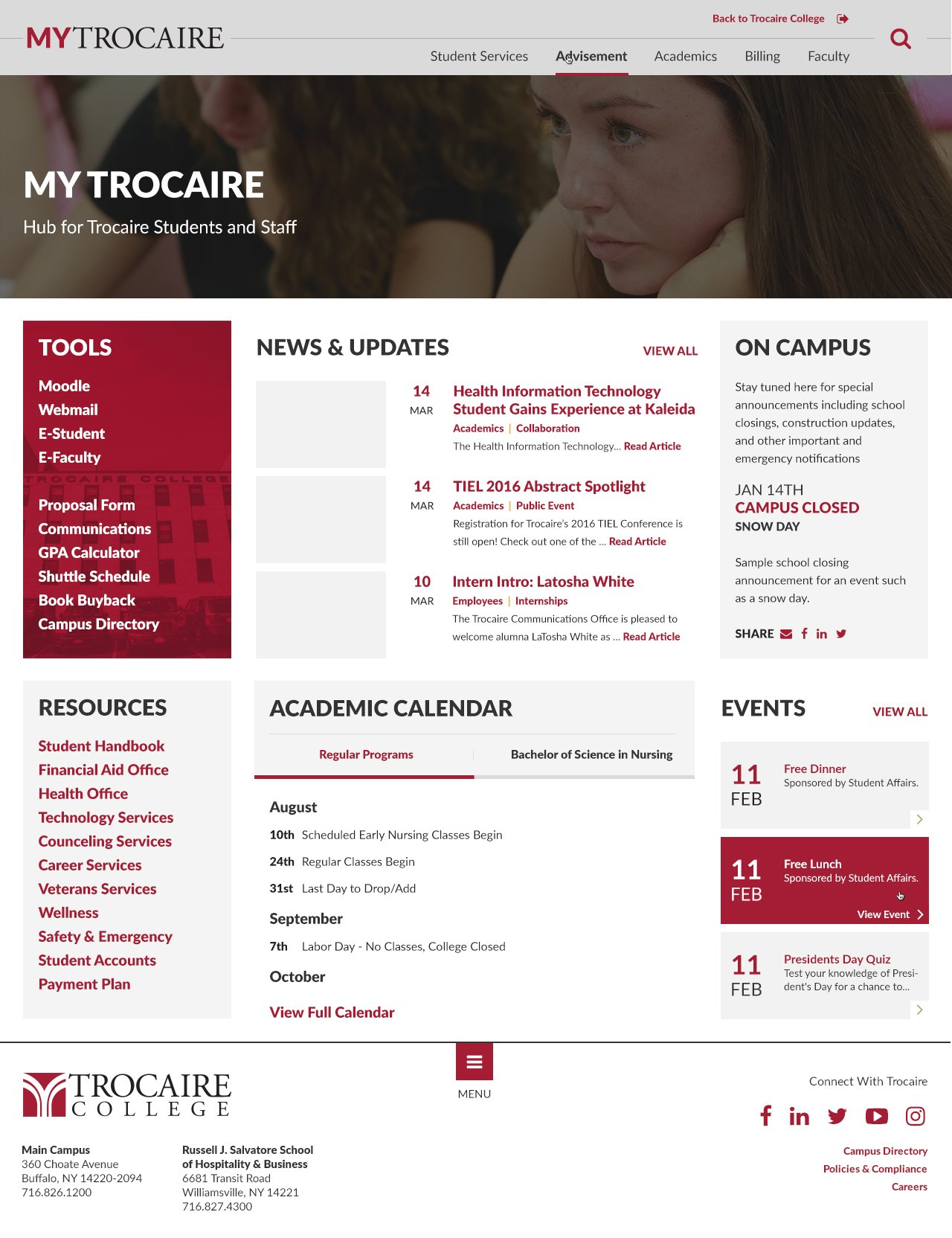 Trocaire College About